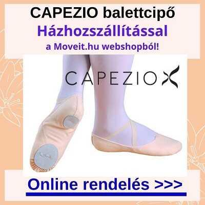 Több méretben Capezio balett cipő webshop rendelés online, kiszállítással