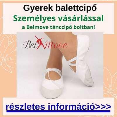 Több méretben gyerek balettcipő vásárlás a táncszaküzletben személyesen