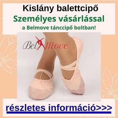 Több méretben kislány balett cipő vásárlás a táncszaküzletben személyesen